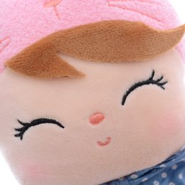 """dreams plush 2019 - gift toys METOO Angela Dolls Free Package Dreaming Girl Pink Plush Stuffed Dolls Kids Gifts Toys Children 12*4""""#LNF"""