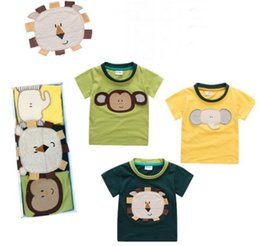 Discount novelty christmas gifts for children - 3pcs Box Cotton Kids T-Shirt Summer Cotton Kids T-Shirt Children Summer Short Sleeve T-Shirts for Boys Girls Clothes Gif