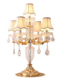 $enCountryForm.capitalKeyWord UK - European style table lamp luxury bedroom American modern minimalist warm creative wedding room Nordic decorative crystal lamps