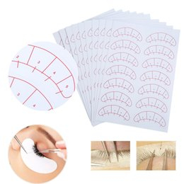 Chinese  1 Set 70 pairs Eyelashes Extension Adhesive Sticker Eye Lash Isolation Position Pads Paper Patches Under Eye Tips Sticker Wraps Exercise manufacturers