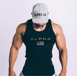 HZIJUE 2018 Nueva ropa Gimnasios Camiseta ajustada Hombres Camiseta de fitness Tanques Homme Gimnasios Camiseta Hombres Chaleco de fitness Top de verano de crossfit en venta