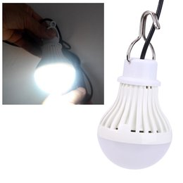 Wholesale 5W V Portable Hanging Tent Light LED Night Light USB Rechargeable LED Bulb Outdoor Camping Emergency