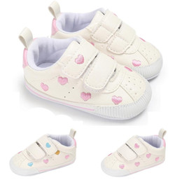 Discount sneaker shoes uk - TELOTUNY baby shoes first walkers Toddler Girl Boys Crib Star Newborn Soft Sole Anti-slip Baby Shoes Sneakers a27 uk