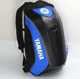 2018 последний водонепроницаемый мотоцикл рюкзак для Yamaha углеродного волокна жесткий Shell мотокросс сумка многофункциональный езда рюкзак