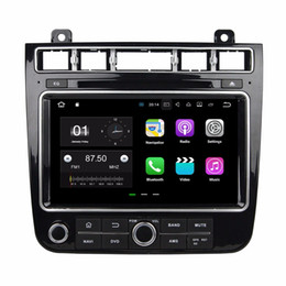 "android tv tuner for car NZ - 2GB RAM Quad Core 8"" Android 7.1 Car DVD Player for VW Volkswagen Touareg 2015 2016 With GPS Radio Bluetooth 4G WIFI 16GB ROM"