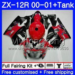 $enCountryForm.capitalKeyWord NZ - Injection Factory red frame +Tank For KAWASAKI NINJA ZX1200 C ZX 12R 00 01 222HM.10 ZX 12 R 1200CC ZX12R 00 01 ZX-12R 2000 2001 Fairings kit