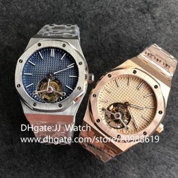 Горячие мужские часы реального турбийона наручные часы 316 нержавеющей Cal.2924 механические спортивные швейцарские часы диаметром 41 мм с EMS Express на Распродаже