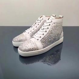 959cb8127361 2018 Original vogue New Stars Red Bottom Sneakers for Men Women with Rhinestones  Rantus Orlato Flat Mens Shoes Leisure