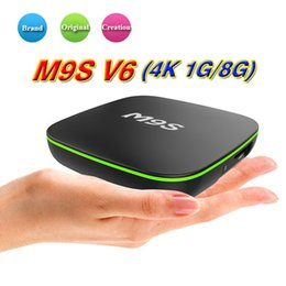 Android smArt tv box dhl online shopping - Factory Sale M9S V6 New MXQ Pro K Smart Android TV Box Rockchip RK3229 Quad Core Google Set Top Box Media Player by DHL