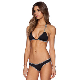 6725513e59 Sexy Micro Bikinis Women Swimsuit Female Swimwear Halter Brazilian Bikini  Set Beach Bathing Suits Swim Wear Biquini