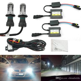 h4 headlight conversion Australia - LEEWA 35W AC Car Headlight H4 HID Xenon Bulb Hi Lo Beam Bi-Xenon Bulb Light Digital Slim Ballast HID Kit #4482