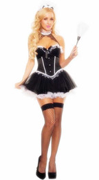 $enCountryForm.capitalKeyWord NZ - Free Shipping New sexy lingerie cosplay Anime Europe and America Game Uniforms Maid Black Maid Pirates Halloween Party Role Playing