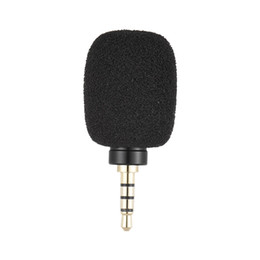 Ipad Microphone UK - Andoer EY-630A Cellphone Smartphone Portable Mini Omni-Directional Mic Microphone for Recorder for iPad Apple iPhone X 8 Samsung