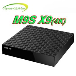 Ott Tv Canada - M9S X9 RK3229 Chipset Android TV Box Android 6.0 Lollipop OS Smart OTT Boxes Quad Core 1G 8G 4K Google Media Players