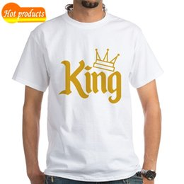 7666ff2dc19a New 2018 Fashion T Shirt Crew Neck Cafepress King Gold White T-Shirt - 100%  Cotton Short Printing Machine T Shirts For Men