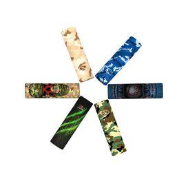 Vapor mod skins online shopping - 20700 Battery Wrap Sticker Protective Skin PVC Sleeve Vapor Cover for Electronic Cigarette Vapor MOD Bag