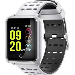 $enCountryForm.capitalKeyWord NZ - N88 Smart Watch Bracelet Calls To Remind Intelligent Heart Rate Wristbands Sport Watchbands IP68 Waterproof Anti-lost Function