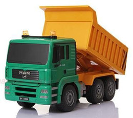 China 1:20 Scale Remote Control Rc Dump truck construction truck Tipper Dump-car Toy ,rc tip lorry cheap cars dump suppliers