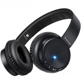 bluetooth gaming headphones mic UK - P30 Bluetooth Headphone With Mic. TF MP3 HIFI Music headphones Strong Bass auriculares Gaming Headset