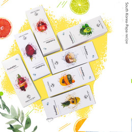 Face Sheet Pack NZ - Korea Papa Recipe Bombee Fruitables Yellow Green Red Orange Squeeze Mask 10 sheets pack Skin Care Mask Sheets