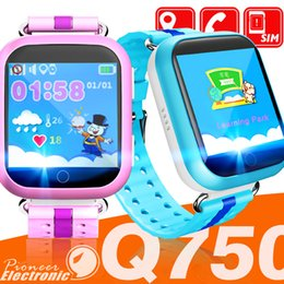 Touch waTch wifi online shopping - Q750 Kids Smart Watch inch touch screen GPS Wifi LBS Monitor SOS Call Safe Anti Lost Location Device Tracker for kid child bady Smart wa
