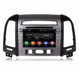 Free Mp3 Player For Android Phone Australia - Android 8.0 Octa Core Car DVD GPS Player Navigation Stereo for HYUNDAI SANTA FE 2006-2012 Radio Headunit Free Map