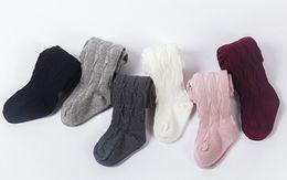 $enCountryForm.capitalKeyWord Canada - Kids pantyhose baby girls vertical leggings kids cotton tights spring new girls knitting princess leg children cotton bottoms A00158