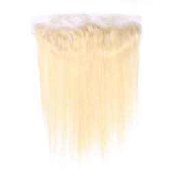 $enCountryForm.capitalKeyWord UK - 613 Blonde Bundles Brazilian Virgin Hair 613 Blonde Straight Human Hair Weave 3 Bundles With Lace Frontal 13*4 Lace Frontal Ear To Ear