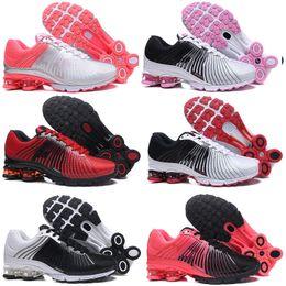 reputable site 00037 39058 2018 NUEVO Air Shox Deliver 625 Hombres Mujeres Zapatos para correr Baratos  Chaussures Homme TN Shox OZ NZ Avenue Athletic Trainer Maxes Zapatillas ...