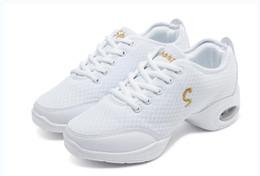 a6970dd5 ENVÍO GRATIS nuevas Mujeres Zapatos Deportivos Zapatos de Lona de Moda  Aptitud Superior Jazz Moderno Zapatillas