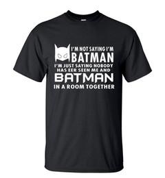 $enCountryForm.capitalKeyWord UK - Camping T-Shirts Hot Sale Summer T-Shirt Funny I'm Just Saying batman streetwear Hip Hop Tops Tee brand clothing t shirts for fans S-3X
