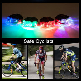 $enCountryForm.capitalKeyWord NZ - Bicycle Rear Taillight 2 Laser + 5 LED Flash LED Lamp Cycling Night Safety Warning Lamp Bike Outdoor Tail Light Accessories Waterproof