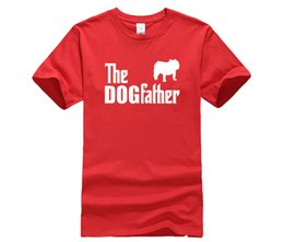 b6bccb1c5f2 T-Shirt Design Online O-Neck Short Die Dogfather Bulldogge Englische  Bulldogge Dog Funny Geschenk Idee Graphic T-Shirts