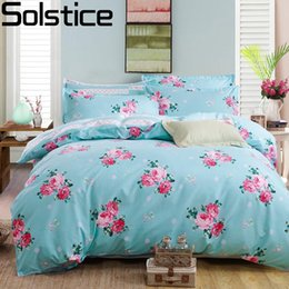 Discount pink orange bedding sets - Solstice Fashion Color Mix And Cotton Bedding Set Bed Sheet Duvet Cover Pillowcase 4 pcs Combination Bed Cover Linen