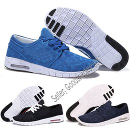 China wholesale Cheap Men Women Fashion SB Stefan Janoski mesh jogging shoes Black Grey Outdoors Athletic Walking Sports Shoes Sneakers 5.5-11 cheap cheap stefan janoski suppliers