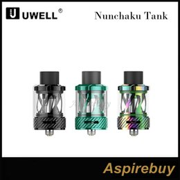 cig metal holder Australia - Uwell Nunchaku Tank Atomizer with 5ml e-Juice Capacity Plug-Pull Coils Separate Condensation Holder E Cig DHL Free 100% Original