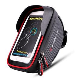 Discount bicycle phone holders waterproof - Front Bike Phone Holder Key Tool Light Storage Bag Riding Equipment Bike Cycling Accessories Waterproof Bicycle Phone St