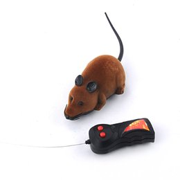 $enCountryForm.capitalKeyWord UK - Two-Way Remote Control Rotating Mouse Emulation Flocking Mouse Toys for Cat Playing Wireless RC Rat Toy Randomly Color #45