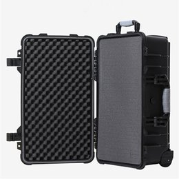 $enCountryForm.capitalKeyWord Australia - 20 24 30 Inch Trolley Case Bag Safety Instrument Tool Box Storage Tools Water-proof IP67 Equip Travel Draw-Bar Shockproof Sponge Luggage