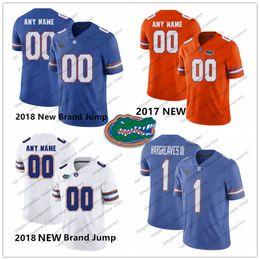 835ac88b15a NCAA Florida Gators  1 Vernon Hargreaves III 99 Jachai Polite 19 Evan  McPhers 13 Newton Percy Harvin 2018 Royal Blue White Orange Jersey
