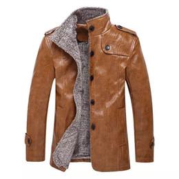 $enCountryForm.capitalKeyWord Australia - New arrive Europe Size large size Leather Jacket men Brand Male Bomber Motorcycle Biker Men's Coat jaqueta de couro masculina