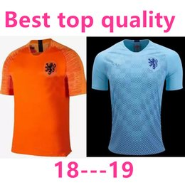 Nederland 2018 soccer jersey home orange netherlands JERSEY ROBBEN SNEIJDER  18 19 thai quality HOLLAND JERSEY V.Persie Dutch football shirts 4caba34d3