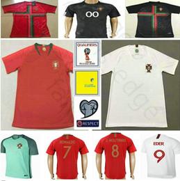 7fa18198d 2018 World Cup Portuguesa Soccer Jerseys 7 Ronaldo 1 PATRICIO BRUNO ALVES  PEPE MIGUEL F.COENTRAO Men Women Kids Youth Football Shirt