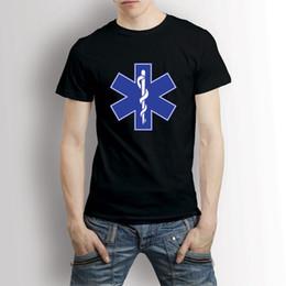 34eeebae4 PARAMEDIC (Emergency Medical Services EMT) EMS Star of Life Symol T-Shirt  Tee Fashion Design Free Shipping