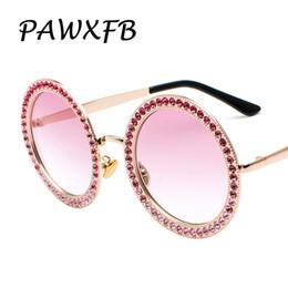 c6ce8aa68a Lentes rosas online-Pop Age 2018 New Pink Diamond Sunglasses Gafas de sol  de gran