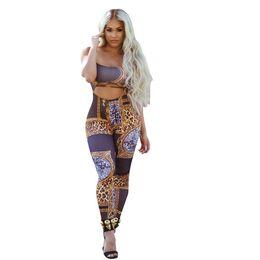 15369d7b780 women sexy leopard print spaghetti strap sleeveless cutout waist skinny  bodycon bandage party jumpsuits fashion rompers 3018