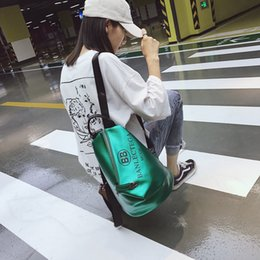 Purple Travel Pillow NZ - Hot Explosions Backpacks 2018 New Korean Version Female Back Pack Anti-theft Backpack Short-distance Travel Portable Bag Free Shopping