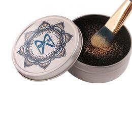 Quick Color Off Make-up Pinsel Reiniger Schwamm Entferner Power Remover Off von Lidschatten Power Brush Quick Wash Pinsel-Werkzeug
