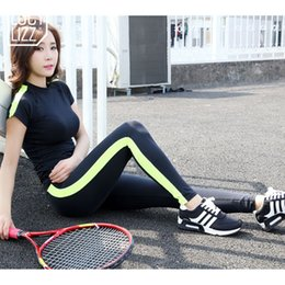 Yoga Pants Sports Bra Canada - 2016 Women Splice Yoga Set Sport Suit For Gym Running Set Sportswear Fitness Tracksuit 2 Piece Bra Pants Fitness Sports Clothing