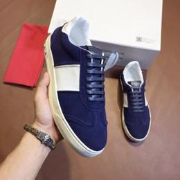 7773822b768 suede casual shoe luxury brand Flycrew sneaker High quality designer men s  shoes size 38-44 model 288319086